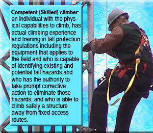 competent climber