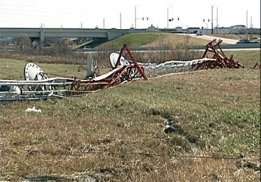 Guyed Tower Collapse