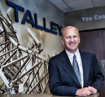 Mark Talley, President and CEO of Talley, Inc.