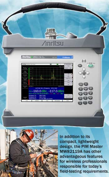 New PIM Master MW82119A band testing