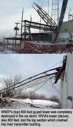 TV Tower Collapse