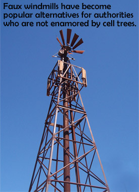 Cell Tower Windmill